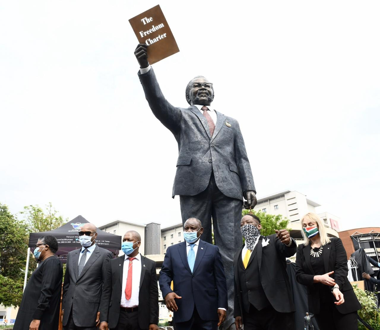 Ramaphosa pays tribute to Tambo the freedom architect