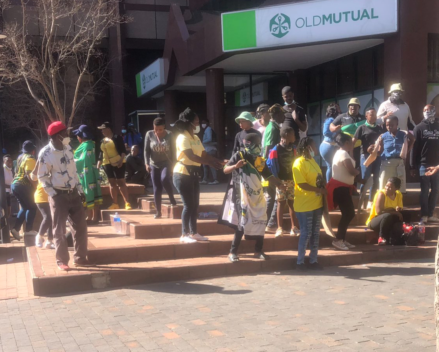 More ANC councillor squabble pickets at Luthuli House