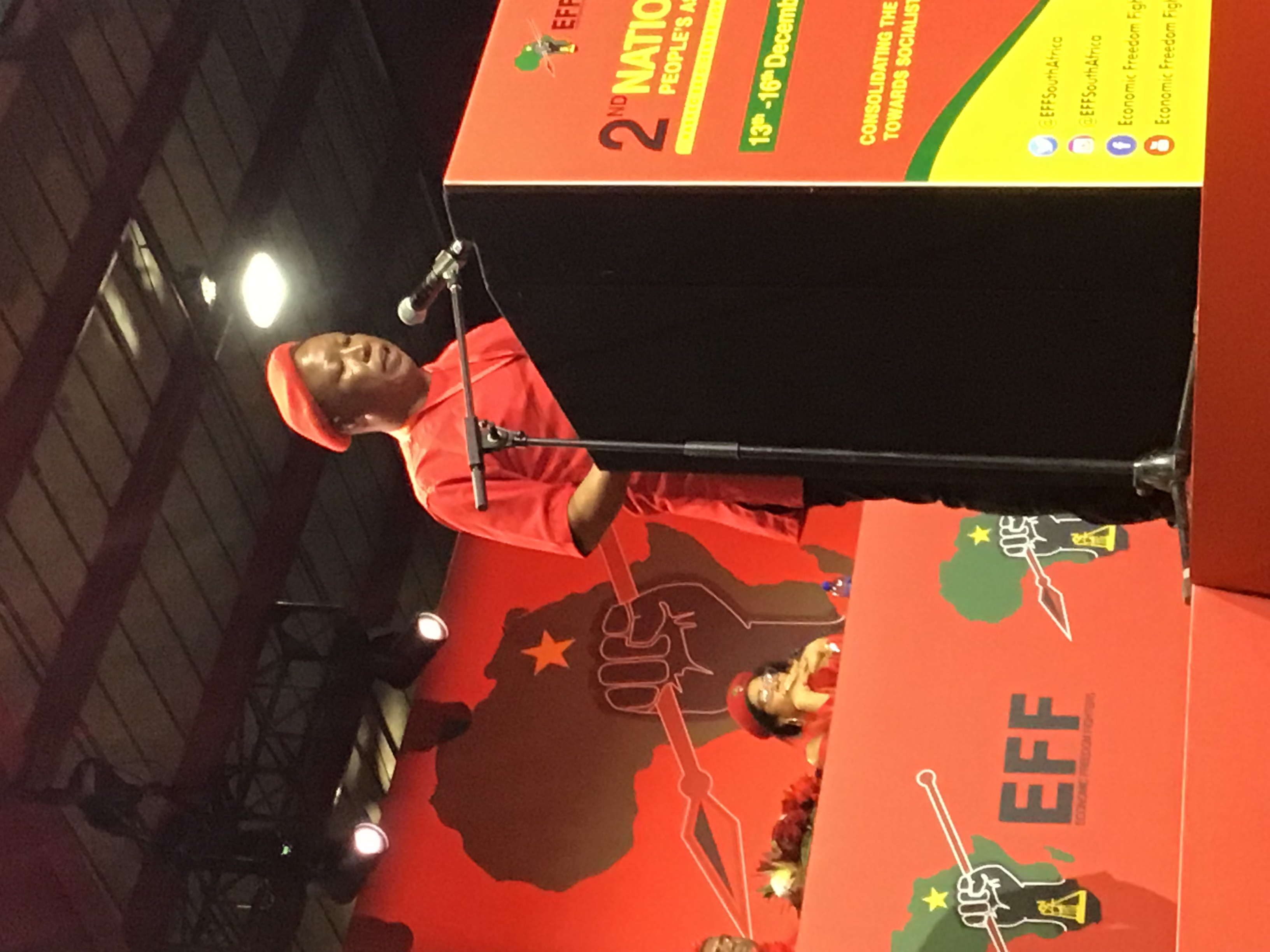 Malema calls for loyalty, wants the Left to unite