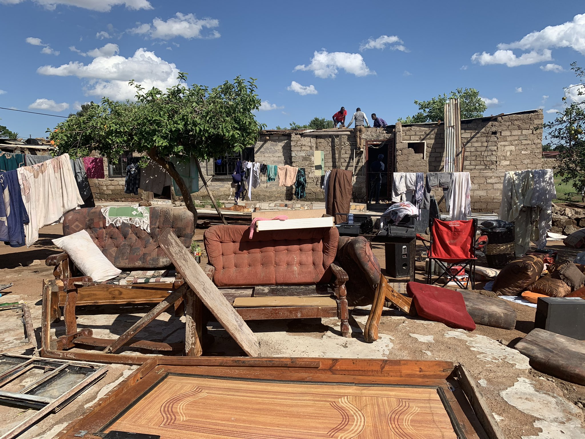 Heavy storm damages homes in Mabopane