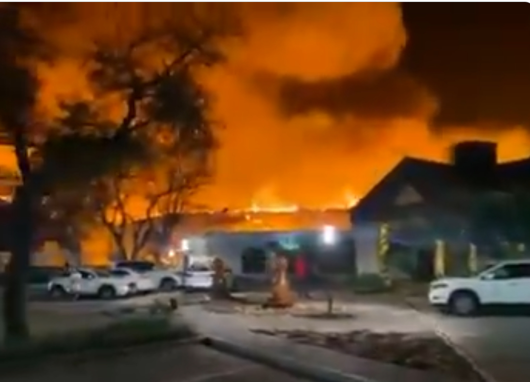 Fire damages Mmabatho Palms Hotel