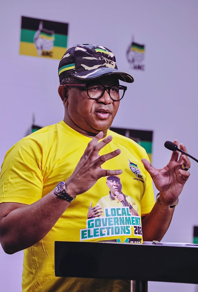 Mbalula: Protests against ANC sponsored
