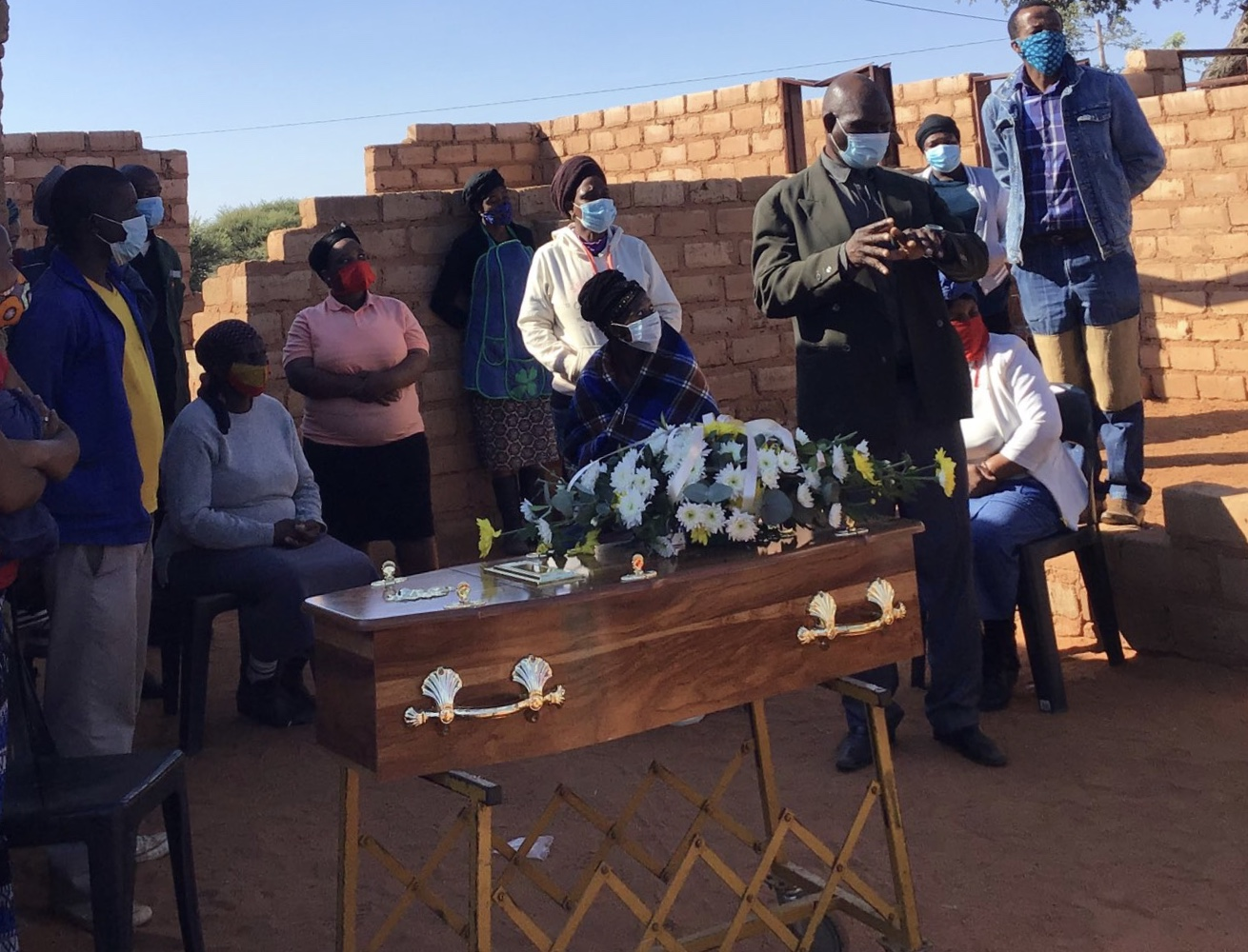 Sewer death toddler laid to rest