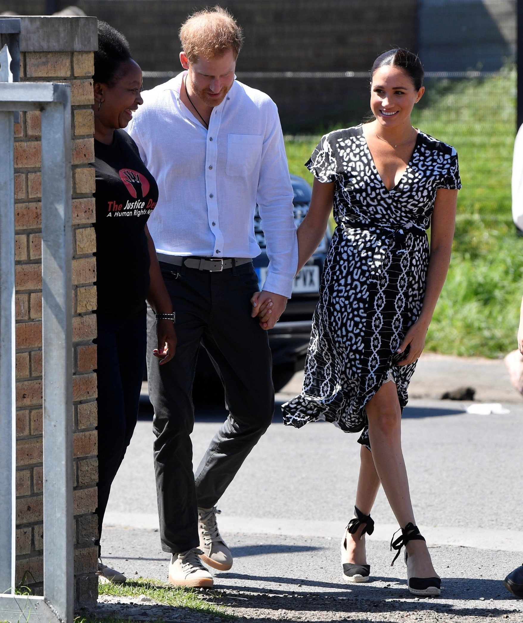 Prince Harry and Megan Markle wow Cape Town