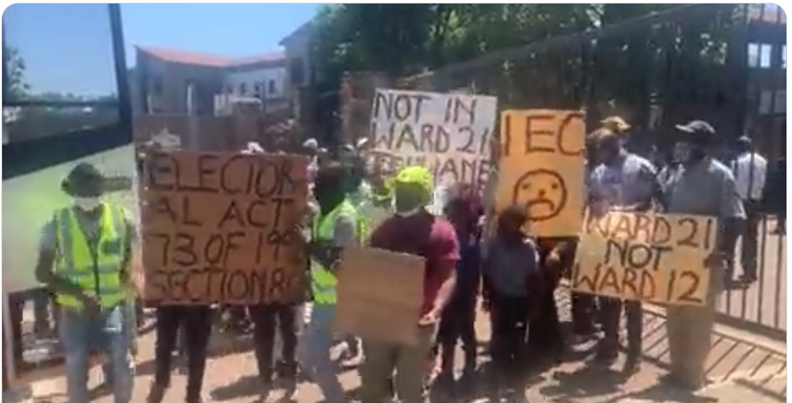 Mabopane residents, independent candidate threaten court action over voters's roll
